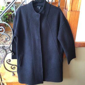 Eileen Fisher Wool Coat Medium